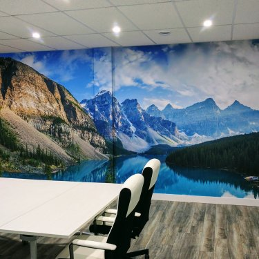 Murale Montagnes – Mountains Mural